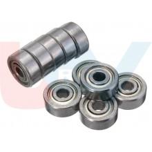 Bearing 3x10x4mm Shielded Radial -Silver