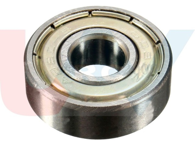 Bearing 3x10x4mm Shielded Radial -Silver