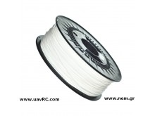 Filament ABS 1.75 mm, White, Spool -1kg