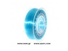 Filament PETG 1.75 mm, Blue Transparent, Spool -1kg
