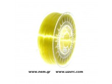 Filament PETG 1.75 mm, Yellow Transparent, Spool -1kg