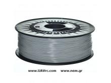 Filament PLA 1,75 mm, Grey, Spool -1kg