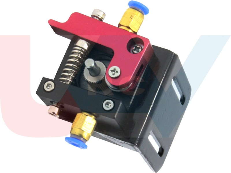 Metal Bowden Extruder set for 1 75mm Filament -Right Hand
