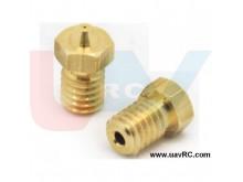 Nozzle 0.4mm Full Metal M6 Threaded 1.75mm -V5/V6