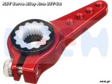 KST Servo Metal Arm Adjustable -Red