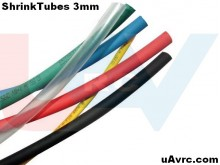 Heat Shrink Tube 4mm -1mtr.