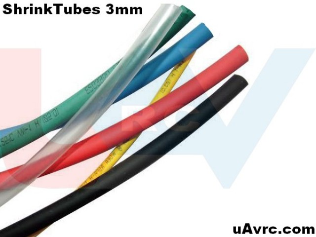 Heat Shrink Tube 4mm -1mtr.