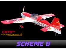 EG Aircraft Extra 300 Mid-Wing 2.590mm Wingspan, 100cc ARF -scheme B