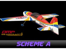EG Aircraft Extra 300 Mid-Wing 2.590mm Wingspan, 100cc ARF -scheme A