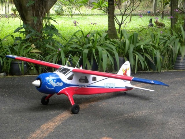 VQ DHC-2 Beaver 1620mm Wingspan ARF kit -VQA064