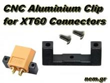 XT60 connectors CNC Clip kit -Black color