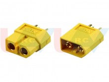 XT30 gold connectors -pair