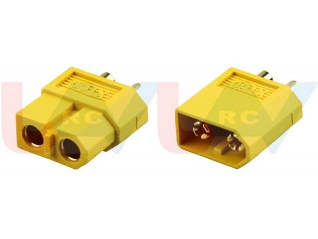 XT30 gold connectors -pair