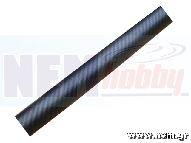 3K Carbon Tube 20x18mm Matt Finish -1mtr