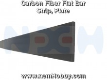 Carbon Fiber Flat Bar 5 x 1 x 1000mm