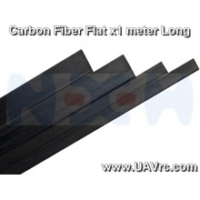 Carbon Fiber Flat Bar 6 x 1 x 1000mm