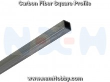 Carbon Fiber Square Bar 3 x 3 x 1000mm