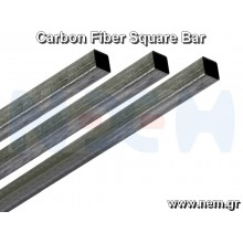 Carbon Fiber Square Bar 4 x 4 x 1000mm