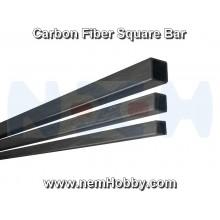 Carbon Fiber Square Bar 8 x 8 x 1000mm