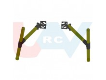 Landing gear system for heavy duty multicopters -combo