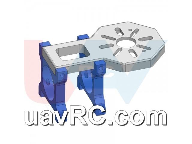 CNC Motor Mount for U8, U15 Brushless Motors 25/30mm Tube