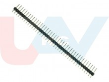 40Pin Header Strip Male 2.54mm Single Row Straight