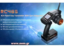 Radiolink RC4GS, 4CH, 2.4G Transmitter w/ R4FG Reciever with Gyro