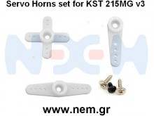 KST Servo Horn Package For DS215MG V3 Servo