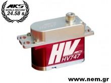MKS HV747 Digital HV Titanium Gear Servo -15kg-0.13sec