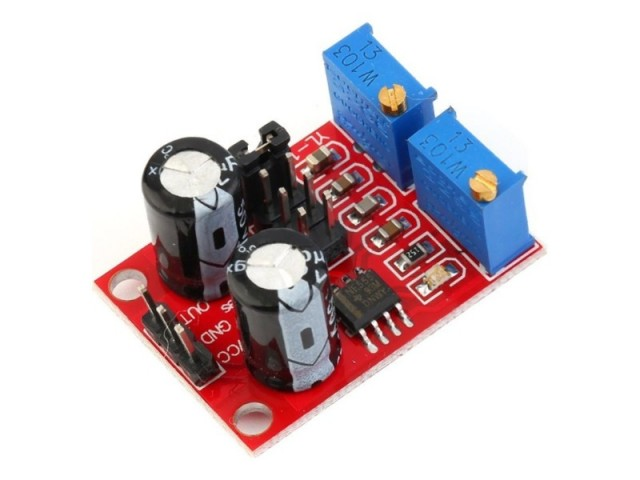 Duty Cycle & Frequency Adjustable Module Square Wave Rectangular
