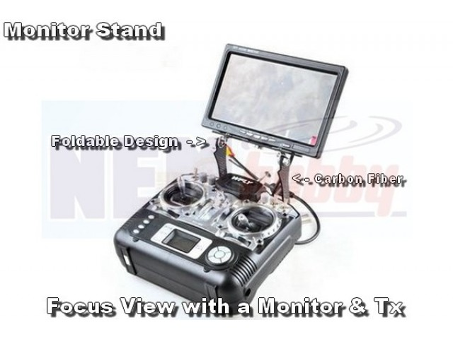 Folding Stand for Monitor -Carbon