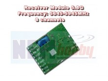 Receiver (Rx) 5.8GHz AV Wireless Module -PCB