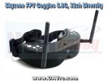 Skyzone Goggles 5.8GHz 32CH -Head-Tracker