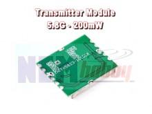 Transmitter (Tx) 200mW 5.8GHz AV Wireless Module -PCB