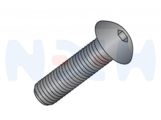 Button Head M6x16mm screw -Silver