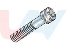 Socket Head M2.5x35mm screw -Silver