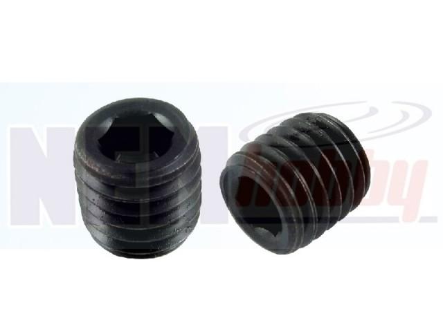 Grub screw M3x3mm Hex Socket -Black x10pcs