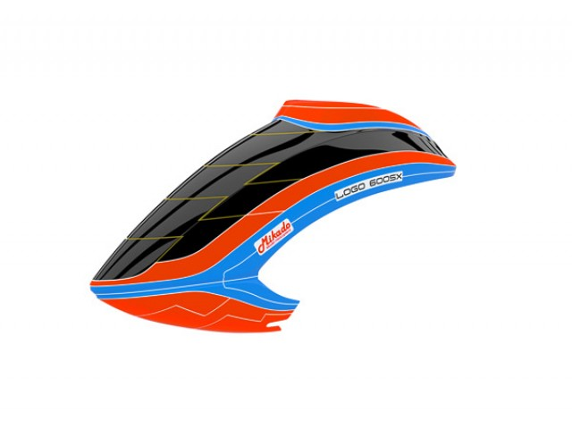Canopy LOGO 600 SX V3 neon-orange/blue NEW -05127