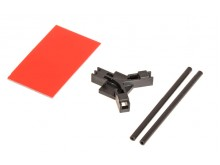 Antenna support flat mounting, black -04953
