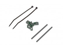 Antenna support for tailboom, black -04954