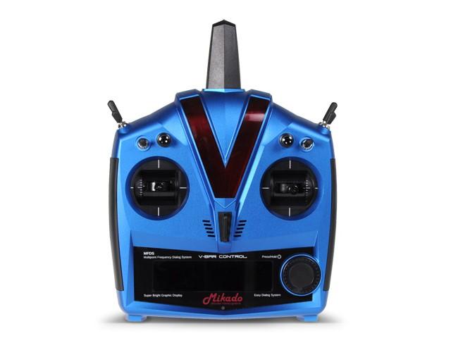 VBar Control Alu-case, blue VBasic Receiver -05106