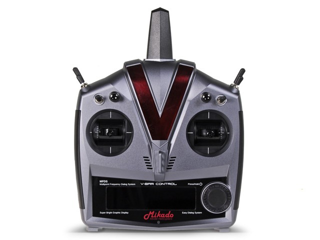 VBar Control Alu-case, gun, VBasic Receiver -05107