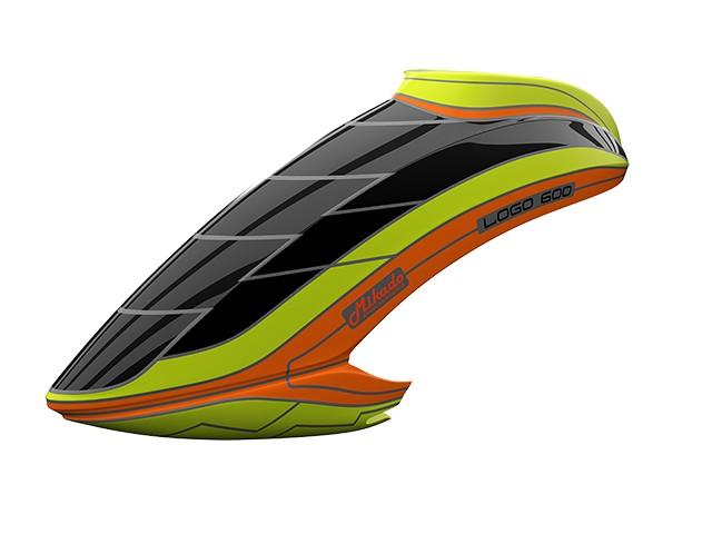 Canopy LOGO 600 neon yellow/orange -05111