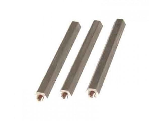 Metal hex bolts 59mm, M3 -04099
