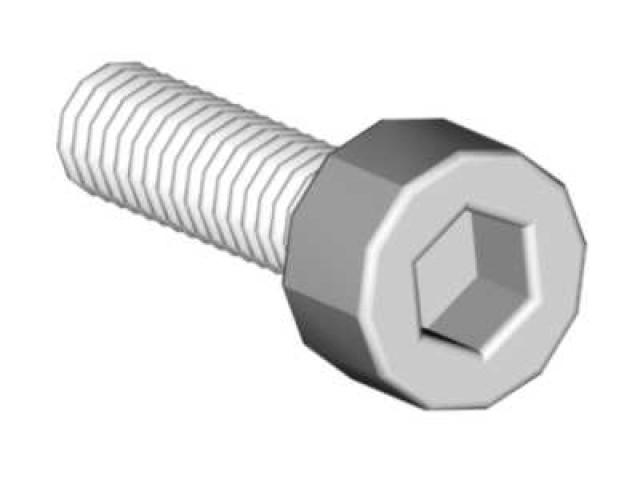 Socket head cap screw M2,5x12 -04651