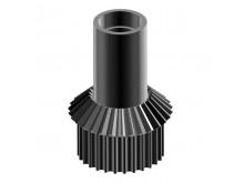 Bevel/ belt gear pinion chassis gear box, LOGO 700 -04523
