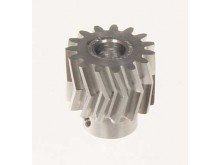 Pinion for herringbone gear 15teeth, M1, dia.6mm -04415