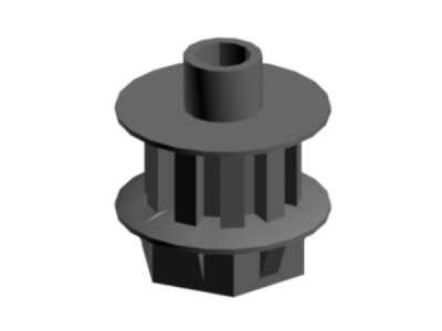 Tail drive pulley antistatic -03046