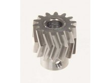 Pinion for herringbone gear 16teeth, M1, dia.8mm -04716