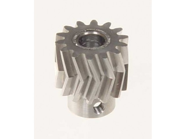 Pinion for herringbone gear 19teeth, M1, dia.8mm -04490